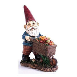 Kelkay - Maxi Grow Your Own Gnome - Kelkay Gnomes for homes! This assortment of Gnomes has been exclusively designed by Kelkay to have a traditional and authentic appearance. Made from durable resin-stone and designed for both indoor and outdoor each Gnome is a great addition to any home or garden. Each Gnome has its own individual storybook tag including the gnome story and personal rhyme. It also contains details of the full collectable assortment of Gnomes for homes.