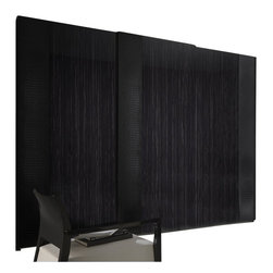 Rossetto - Rossetto Nightfly 2 Door Sliding Wardrobe in Ebony - Rossetto - Wardrobe Armoires - T412030120003 - Sliding doors side panel with a crocodile finish and an incorporated handle. Hanging rail upholstered with a crocodile finish.
