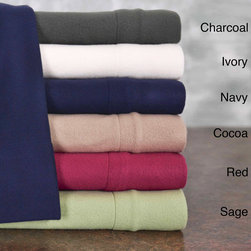 None - Winter Nights Microfleece Sheet Set - Snuggle up in warmth and comfort on the coldest of nights with this microfleece sheet set. Available in a range of colors to match your decor,this bedding features an easy-care fabric construction and a deep pocket to fit almost any mattress.
