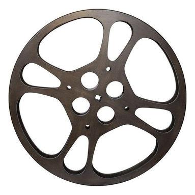 Large Decorative Film Reel - $456 Est. Retail - $365 on Chairish.com -