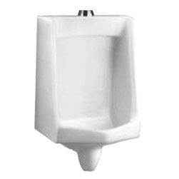 American Standard - American Standard 6601.012.020 White 1.0 GPF URINAL - This low-consumption urinal uses just 1.0 gallon per flush. Features include a flushing rim and a blowout flush action for effectiveness, plus integral privacy shields. Its practical design makes it ideal for commercial applications that don?t have privacy walls between urinals.