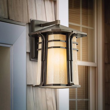 Outdoor Decrative Lighting - The North Creek Collection of outdoor lighting from Kichler