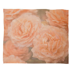 DENY Designs - Maybe Sparrow Photography Orange Floral Crush Fleece Throw Blanket - This DENY fleece throw blanket may be the softest blanket ever! And we're not being overly dramatic here. In addition to being incredibly snuggly with it's plush fleece material, it's maching washable with no image fading. Plus, it comes in three different sizes: 80x60 (big enough for two), 60x50 (the fan favorite) and the 40x30. With all of these great features, we've found the perfect fleece blanket and an original gift! Full color front with white back. Custom printed in the USA for every order.