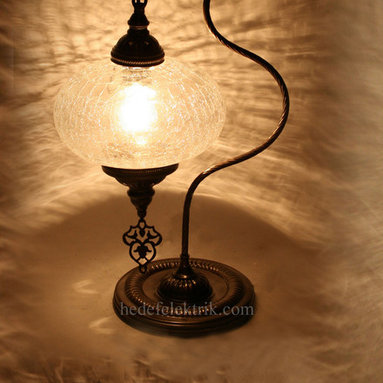 Turkish Style Brass Table Lamp - *Code: HD-97207_22