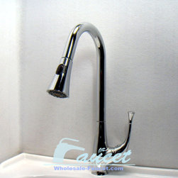 Pull Out Spray Kitchen Faucet - Features: