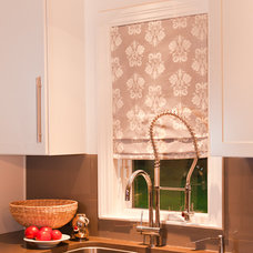 Modern Roman Blinds by Victoria Larson Textiles