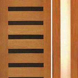 """Modern Single Door, One Sidelite, Horizontal Heavy Iron Inserts - SKU#R-19_1-1BrandAAWDoor TypeExteriorManufacturer CollectionRetro DoorsDoor ModelDoor MaterialWoodWoodgrainTropical HardwoodVeneerPrice2050Door Size Options[30""""+18"""" x 80""""] (4'-0"""" x 6'-8"""")  $0[32""""+18"""" x 80""""] (4'-2"""" x 6'-8"""")  $0[36""""+18"""" x 80""""] (4'-6"""" x 6'-8"""")  +$10[42""""+18"""" x 80""""] (5'-0"""" x 6'-8"""")  +$210[24""""+18"""" x 96""""] (3'-6"""" x 8'-0"""")  +$552[32""""+18"""" x 96""""] (4'-2"""" x 8'-0"""")  +$552[36""""+18"""" x 96""""] (4'-6"""" x 8'-0"""")  +$572[42""""+18"""" x 96""""] (5'-0"""" x 8'-0"""")  +$772Core TypeSolidDoor StyleModernDoor Lite StyleFull Lite , 1 LiteDoor Panel StyleFlush PanelHome Style MatchingContemporaryDoor ConstructionTrue Stile and RailPrehanging OptionsPrehungPrehung ConfigurationDoor with One SideliteDoor Thickness (Inches)1.75Glass Thickness (Inches)3/4Glass TypeDouble GlazedGlass CamingGlass FeaturesTempered , InsulatedGlass StyleGlass TextureMatteGlass ObscurityDoor FeaturesDoor ApprovalsDoor FinishesDoor AccessoriesWeight (lbs)714Crating Size25"""" (w)x 108"""" (l)x 52"""" (h)Lead TimeSlab Doors: 7 daysPrehung:14 daysPrefinished, PreHung:21 daysWarranty1 Year Limited Manufacturer WarrantyHere you can download warranty PDF document."""