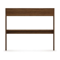 Copeland Furniture - Copeland Furniture | Moduluxe Desk, 29-Inch High - Made in Vermont by Copeland Furniture.Design a bedroom with a small home office space or good old fashioned letter writing spot. The 29-Inch Moduluxe Desk offers a desktop for pulling up a chair and getting to a little work. The Desk works as part of the Moduluxe for creating modular bedroom configurations. Or use the simple desk as a standalone piece in a home office or workspace. The 29-Inch Moduluxe Desk is available in 15 finishes. Select wood color/finish. Then select one of two satin surface finishes: standard Copeland Lacquer top coat or formaldehyde free Copeland Water Based top coat. From Copeland Furniture's Moduluxe Series, offering highly configurable bedroom and storage systems to adapt to most spaces and needs.