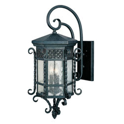 Maxim Lighting - Maxim Lighting 30125CDCF Country Forge Scottsdale 3 Light Outdoor Wall Sconce - Product