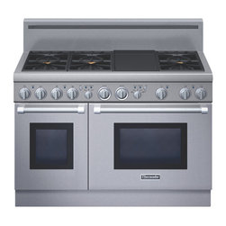 "Thermador 48"" Pro Harmony Gas Range, Stainless Steel Natural Gas 