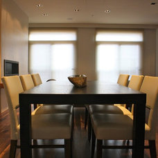Contemporary Dining Room by Michelle Miller Interiors