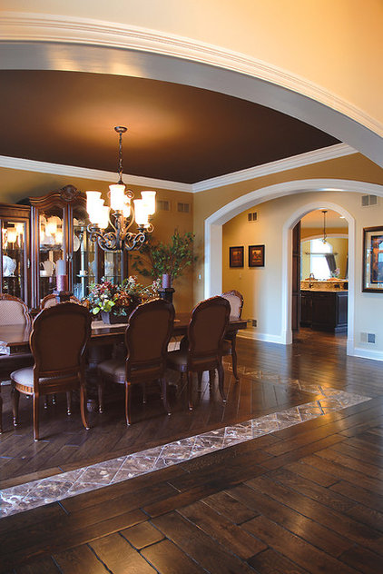 Traditional Hardwood Flooring by Signature Innovations LLC