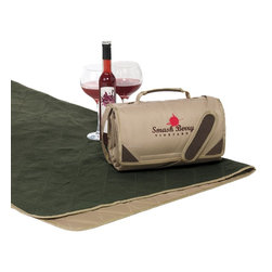 Kanata Blanket Co. - Expedition - Picnic Blanket - The Sideliner II - 4 in 1 Blanket/Poncho/Pillow/To - Kanata's Expedition is a deluxe recreational/picnic blanket, ideal for two people to sit on.