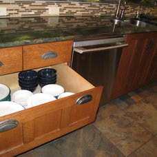 Traditional Cabinet And Drawer Organizers by AD Construction and Remodeling, LLC