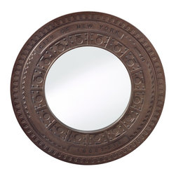 Murray Feiss - Murray Feiss MR1203STL Steel Mirror - Murray Feiss MR1203STL Steel Mirror