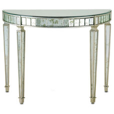 Modern Side Tables And Accent Tables Queensbury Console Table