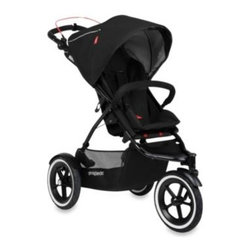 Phil & Teds - phil&teds Navigator Stroller V2 in Midnight Blue - Navigator adapts from a single to a double stroller accommodating newborn through age 5 and has over 26 riding options. The inline second seat adapts to become a parent-facing seat and now takes 2 car seats as a travel system, perfect for twins.