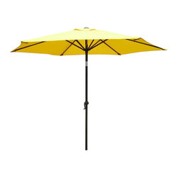International Caravan - International Caravan 8' Patio Umbrella with Tilt and Crank (2.5M Diameter) - International Caravan - Patio Umbrellas - YF1104/2.5M/X