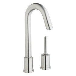Elkay - Satin Bar Faucet, Ella - Product height: 2.5. Product min width: 12.75. Product depth: 21.5. Satin bar faucet, Ella strong and confident, Ella rises above outward beauty with solid stainless steel construction to provide you with safe, healthy water for drinking and cooking. Ella bar / prep faucet deck mount 14 gauge.