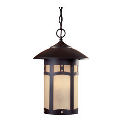 The Great Outdoors - The Great Outdoors 8724-A615B 3 Light Outdoor Chain Hung - The Great Outdoors 8724-A615B 3 Light Outdoor Chain Hung