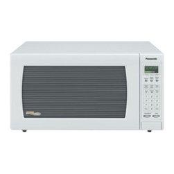 Panasonic - Panasonic 1.6 Cubic-Foot Microwave- White - MODEL- NN-H765WF VENDOR- PANASONIC CONSUMER