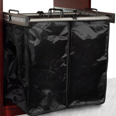 Contemporary Hampers by Solid Wood Closets, Inc.