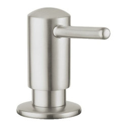 """Grohe - Grohe Timeless Soap or Lotion Dispenser with 15 Ounce Capacity - Timeless Soap or Lotion Dispenser with 15 Ounce CapacityGrohe 40 536 Features:Brass Head and FlangeOne-Piece Cartridge Pump UnitFillable from Above15-Ounce CapacityGrohe 40 536 Specifications:ASME/ANSI A112.18.1MMaximum Deck Thickness 2-3/8"""""""