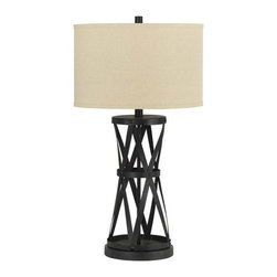 Passo Iron Table Lamp - Living Spaces