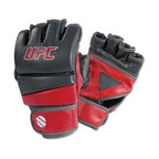 UFC MMA Practice Gloves - Train like a pro in the UFC MMA Practice Gloves.Ideal ground and pound trainerClosed-palm design w/ breathable meshPre-curved finger slots enhances dexterityDurable vinyl constructionClinchstrap™ technology: two-step system ensures secure fitManufacturer's warranty included - see Product Guarantee area for detailsAbout Century LLCCentury's core belief is that martial arts can profoundly impact people's lives, and they want everyone to reap the lifetime benefits. In 1976, Century began by creating martial arts products, and has grown to become the largest supplier of martial arts products in the world. When the company moved to Midwest City, Oklahoma, in 1982, the original building provided 50,000 square feet to help the founders achieve their mission. Since then, the company has expanded to a 650,000 square foot facility, and also broadened its product offering to include yoga, boxing, MMA gear, and physical fitness equipment.