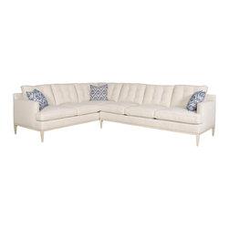Vanguard Furniture - Vanguard Furniture Camilla Left Corner Sofa V331B-LCS - Vanguard Furniture Camilla Left Corner Sofa V331B-LCS