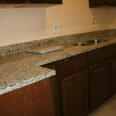 Traditional Kitchen Countertops by Granite Works Countertops
