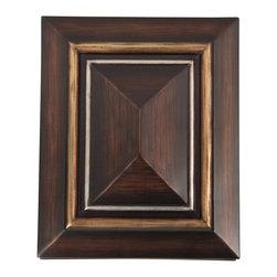 Teiber - Teiber Designer Dark Oak Door Bell / Chime X-OD-2021HC - Dark oak w/ hand painted;gold & silver trim