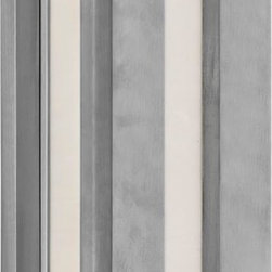 Murray Feiss - Murray Feiss Chameleon Contemporary Outdoor Wall Sconce X-LARB0234BWDO - Clean lines and finishes compliment the modern minimalist look of this Murray Feiss outdoor wall sconce. From the Chameleon Collection, it features a crisp Brushed Aluminum finish that compliments the clean lines while a beautiful art glass shade pulls the look together.