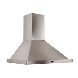 Cavaliere - Cavaliere-Euro SV218B2-30 Wall Mount Range Hood - 218W Wall Mounted Range Hood with 6 Speeds, Timer Function, LCD Keypad, Grease Filters, and Halogen Lights