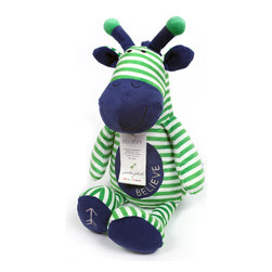 "Bella Tunno - Poetic Plush - Believe Giraffe - Poetic Plush by Bella Tunno makes gift giving easy! The Believe Giraffe sits at 18"" tall and comes with a sentiment to Believe with a poem by Dr. Seuss on it's hangtag - ""You're off to great places, today is your day. Your mountain is waiting, so get on your way."""