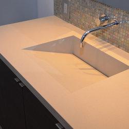 Quartz Integrated Sinks - Custom Stone BG, Inc.