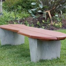 Modern Outdoor Benches by Nico Yektai Furniture Design