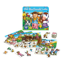 The Original Toy Company - The Original Toy Company Kids' Old MacDonald Lotto - A fun farmyard lotto for very young players. Make lots of noises and actions as you find the farm cards to match the pictures on your playing board. Be the first player to match your farner and you win the game. Ages 2-7 years. 2-4 players. Made in England.