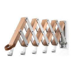 Pear-Wood Collapsible Garment Hanger
