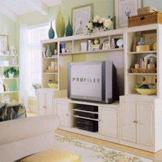 Traditional Media Storage by National Furniture Supply