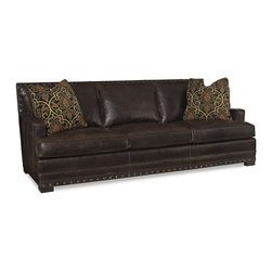 GoreDean - Chicago Leather Sofa Collection - W 94 | D 44 | H 38 in