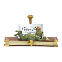 Sterling Industries - Sterling Industries 7-8196 Superior Frog Card Holder - Card Holder (1)