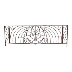 Iron Headboard - Use indoor or outdoor.