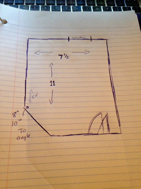 7 1 2 x 11 bathroom design smartest layout for Room with attached bathroom designs