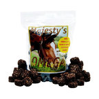 Majestys Animal - Majesty S Animal Majesty S Omega Wafers Multicolor - 016056 - Shop for Horse Food and Treats from Hayneedle.com! Take good care of your animal with the Majesty S Animal Majesty S Omega Wafers. These easy-to-administer dietary supplements are made from rolled oats molasses applesauce and more for an irresistible taste your horse can t resist. Flax provides omega 3 6 and 9 to improve hair coat hooves and decrease nervousness. Wafers also show promise in treating allergic dermatitis.About Bradley Caldwell Inc.On February 1996 Caldwell Supply Company and New Holland Supply merged and a new and unique approach to distribution was created. The result is Bradley Caldwell Inc. a company with more than 100 years of industry experience. Located in the Pocono Mountains of Eastern Pennsylvania its service area covers 17 states and extends from Maine to Michigan to North Carolina. BCI is the only full-line distribution warehouse in the region with more than 30 000 products in six distinct categories - pet equine farm & home lawn & garden pond and wild bird. BCI cares about its customers and works hard every day to improve its retailers' position and profitability within the marketplace. Bradley Caldwell Inc. sets itself apart from the competition with its industry experience outstanding selection of product competitive pricing and commitment to excellence and 100 percent satisfaction in customer service.