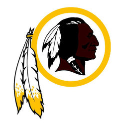 Brewster Home Fashions - NFL Washington Redskins Teammate Logo Wall Sticker Decal - FEATURES: