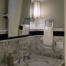 Transitional Bathroom by Donatelli Builders, Inc