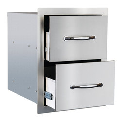 Summerset - Double Drawer - 304 Stainless Steel Construction