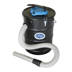 "U S STOVE COMPANY - AV15/635 GA ASH VACUUM - 6 GAL. ASH VACUUM  Cleanup is a breeze with this ash vacuum  2 HP peak motor  Metal mesh filter cage - Dacron pre-filter bag  Rust resistant metal tank  3-1/4 ft. hose with 7"" aluminum wand  Includes plastic crevice tool for tight corners  Onboard hose and cord storage      AV15/635 GA ASH VACUUM  SIZE:6 Gal.  COLOR:Black"