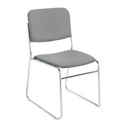 National Public Seating - National Public Seating 8600 N Series Stacking Chair - Gray - 8652-40 - Shop for Chairs from Hayneedle.com! Because comfortable guests are happy guests the National Public Seating 8600 N Services Stacking Chair - Gray is upholstered in thick cozy high-density foam. They'll love the feel; you'll love the Teflon protection from stains and messes that keeps each chair looking great event after successful event. Complete with a tubular steel framing that makes them as durable as they are comfortable.Additional information:19-inch seat heightDurable and stable yet lightweightContoured seat for added comfortFront frame strengthenerAbout National Public SeatingNational Public Seating provides seating products of the highest quality grade materials and craftsmanship for educational religious hospitality government commercial and other institutional markets. Incorporated in 1997 National Public Seating is based in Clifton N.J. and offers one of the nation's largest lines of quick-ship in-stock folding chairs and tables stack chairs stools and dollies. Other product lines include stages risers science tables and mobile cafeteria tables. Their high-quality products are currently in use in tens of thousands of facilities nationwide.Mindful of Our EnvironmentNational Public Seating is committed to preserving the quality of their products and the quality of the environment. To this end the company manufactures their products with varying percentages of pre- and post-consumer waste (recycled material). All of the steel for their products contains 30-40% of post-consumer waste and their plastic products contain up to 35% of pre-consumer waste. All of the wood used for their products comes from non-boreal forests. National Public Seating also uses powder-coat finishes instead of liquid finishes in order to prevent pollutants from being released into the atmosphere and to reuse retrieved overspray. All these efforts and more help their employees and customer